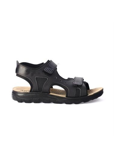 Apella Spor Sandalet Siyah